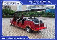 48V 8 Seater Electric Vintage Cars Steel Frame Chassis For Sightseeing