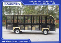 18 Seater  Electric Sightseeing Bus For Campus / Villages / Airports / Terminal 72V 6.3KW DC Motor