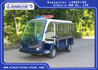 900KG Small Electric Tourist Car Airport Luggage Cart With CE Certificate With Top Light / Roof